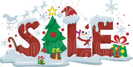 Holiday Savings 76345 Royalty Free RF Clipart Illustration Of The